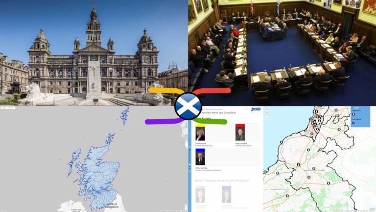 Scottish Local Council Electoral Wards – General, Geographic & Electoral Knowledge Atlas (30 Sep 2019)