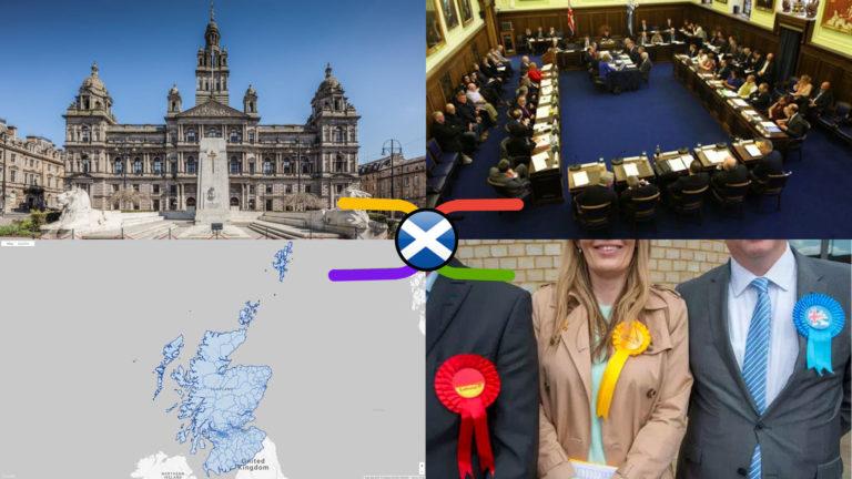 Scottish Local Councils, Electoral Wards & Local Councillors – Political Knowledge Atlas (9 Oct 2019)
