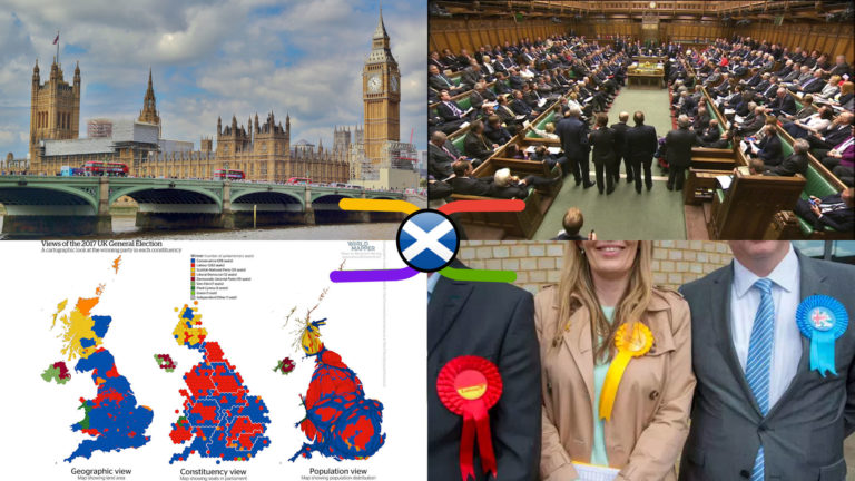UK Parliament Scottish Constituencies & Members – Political Knowledge Atlas (5 Nov 2019)