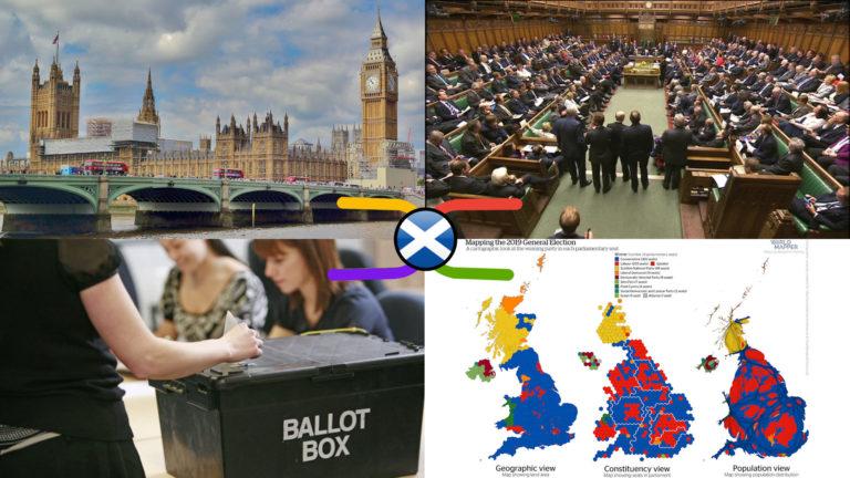 UK Parliament Scottish Constituencies – 2019 General Election Knowledge Atlas RESULTS (13 Dec 2019)